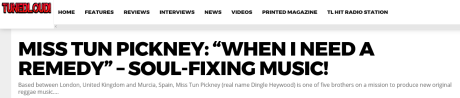 press quote song review online magazine