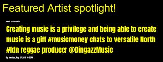 featured artist music blog