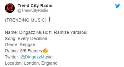 radio review, reggae music, miss tun pickney,